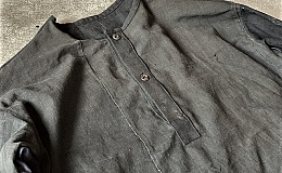 Pull Over Shirt / Japan vintage fabric /size one ⑤