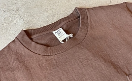 JACKMAN DOTSUME POCKET Tee / size L / Brown