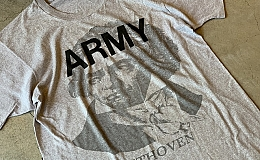 BEETHOVEN ARMY T SHIRT ベートーヴェンアーミーTシャツ Size M ④
