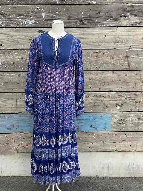 Vintage Dress made in India Cotton