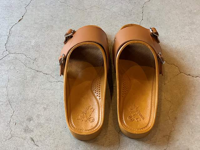 "BENSAN-D  ""DOUBLE MONK""/L.BROWN / size LL"