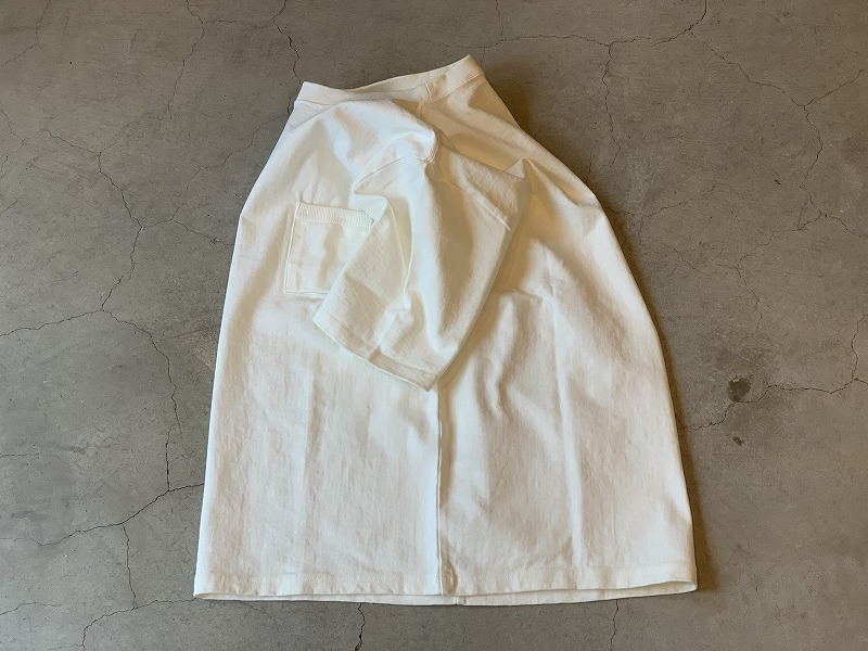 JACKMAN DOTSUME POCKET Tee / size XL / WHITE