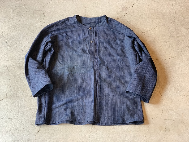 PullOver Shirt / Japan vintage fabric / size one ①