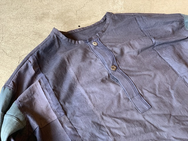 Pull Over Shirt / Japan vintage fabric /size one ④