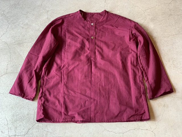 Pull Over Shirt / Japan vintage fabric /size one ⑥