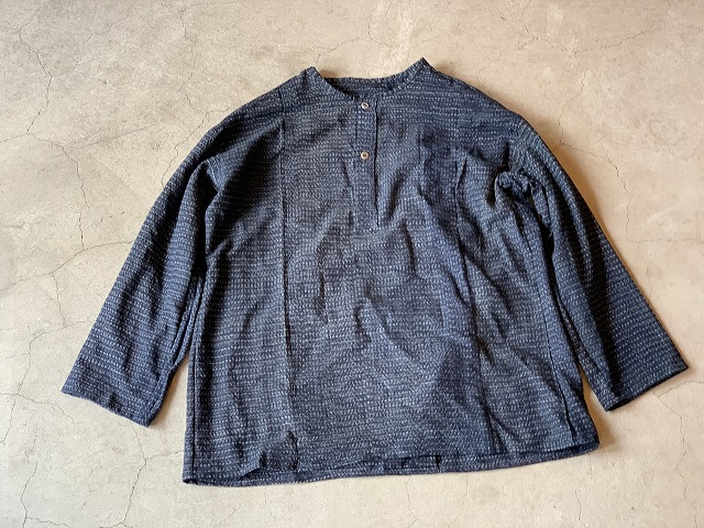 Pull Over Shirt / Japan vintage fabric /size one ⑦