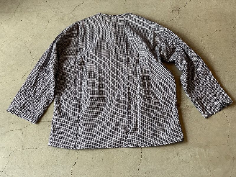 PullOver Shirt / Japan vintage fabric / size one ⑨