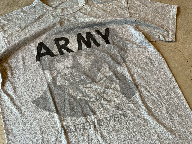 BEETHOVEN ARMY T SHIRT ベートーヴェンアーミーTシャツ Size L ②
