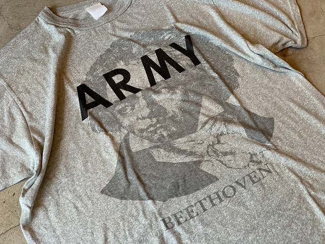BEETHOVEN ARMY T SHIRT ベートーヴェンアーミーTシャツ Size L ③